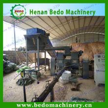 2014 novo tipo de carimbo mecânico máquina de briquete de madeira 8-80mm para venda
