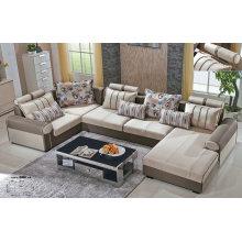 Big U Shape Fabric Sofa Furniture (889)