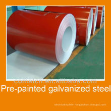 Pre-Painted Galvanized Steel for building constructions