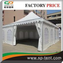 2015 billig Großhandel Aluminium Rahmen China Marquee Pagode Zelt 8x8m mit weißen Futter
