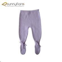 100% cachemira de punto bebé ropa pantalones