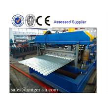 aluminium forming machine Corrugated tile roof roll forming machine