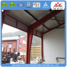 China supplier prefab steel structure factory building