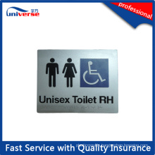 High Quality Silver Plastic Braille Signs