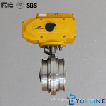 Stainless Steel Sanitary Butterfly Valve (flanged style)
