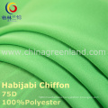 75D Polyester Chiffon Habijabi Fabric for Garment Dress (GLLML235)