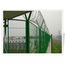 Hot-Dipped Galvanized Railway Path Fence