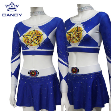 Anpassad Long Top Cheer Uniform Varsity