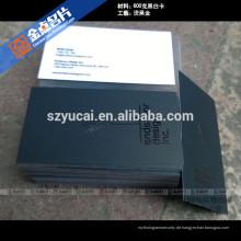 Offsetdruck Buchdruckdruck von uxury Visitenkartendruckern