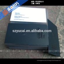 Impressão tipográfica offset impressão de impressoras de cartão comercial uxury