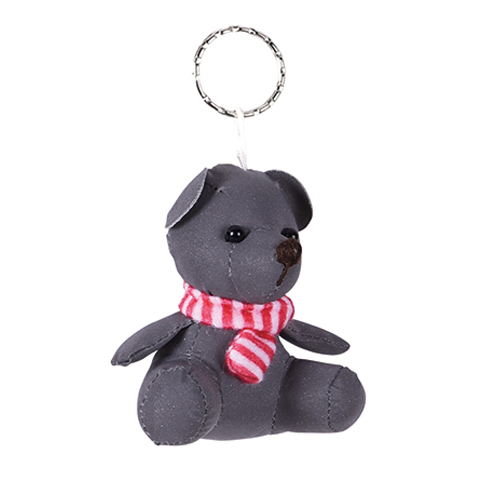 Safety Key Ring Doll with Scarf