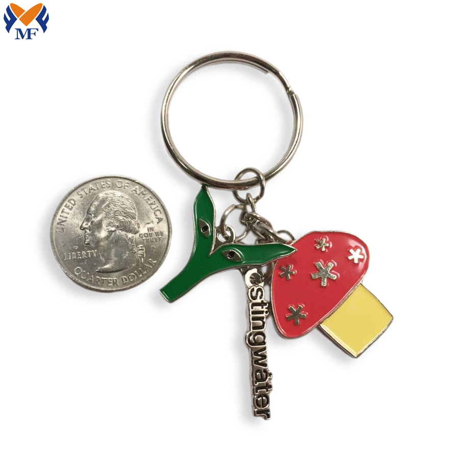 Metal Bag Keychain