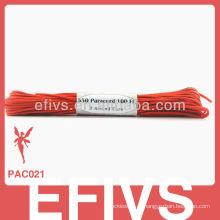 Colorido, pára-quedas, cabo, trança, sobrevivência, 550, paracord, corda