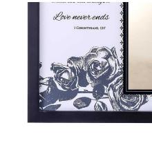 New design wholesale custom wood Frame Record the wedding declaration wedding photo frame for souvenir