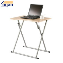 Portable computer desk folding table