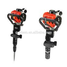 70mm 900w 32.7cc Double Function Mini Petrol Hammer Breaker Small Gasoline Vibrating Post Driver