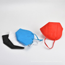 5 layers Non-medical disposable colorful KN95 face mask