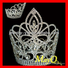 Beauty Round diamond princess crown for girls