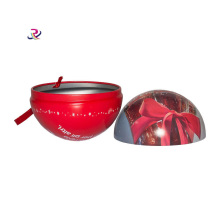 Natale decorare Ball Candy Box Tin