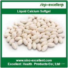 Capsules molles de Softgel de calcium liquide