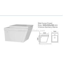 Good Price Sanitary Ware Wall Hung Female Toilet Bowl Toilet Australian Standard