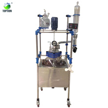 100l Sanitary Single Deck Glass Reactor With 220v/110v