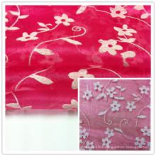 Foam Organza Fabric, Wedding Fabric, Garment Fabric