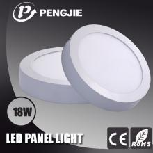 Economia de energia 18W LED superfície painel de luz para escritório (rodada)