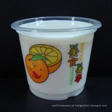 Venda quente descartáveis plástico transparente bacia