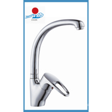 Single Handle Kitchen Mixer Faucet in Sanitary Ware (ZR20909)