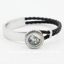 Moda de aço inoxidável pulseira jóias personalizadas para decoração
