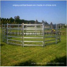 Porte de clôture de ferme d'élevage galvanisé pour bovins moutons ou chevaux