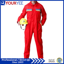 Unique Style Red Coveralls for Workers Comfortable Workwear (YLT118)