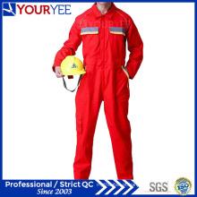 Unique estilo vermelho macacão para trabalhadores Workwear confortável (ylt118)
