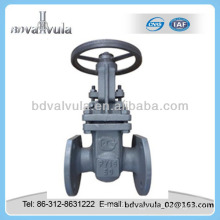 GOST casting steel PN16 flanged gate valve