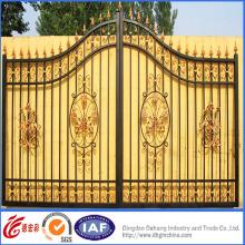 Portão de alta qualidade decorativo estilo real