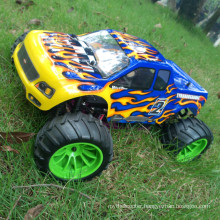 Hot Selling High Speed 2.4G RTR Red Nitro RC Car 1/10 Scale
