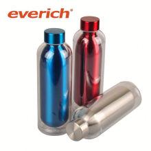 Botella de agua cuadrada a prueba de fugas del acero inoxidable de la venta