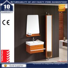 Gabinete moderno de la vanidad del cuarto de baño del roble sólido del estilo moderno