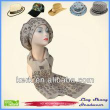 Ladies designer hat and scarf sets winter sets knitted hat and scarf Wool Winter Hat and Scarf for women wholesale , LSA02