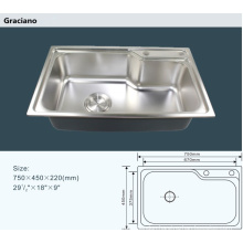 Wholesale Camping Kitchen Bathroom Toilet Laudry Stainless Steel Hand Wash Sink