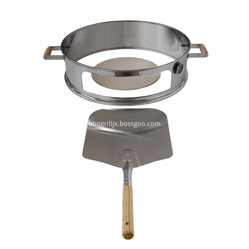 Stainless Steel Pizza Ring Set