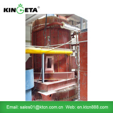 Biomass gasification plant for supply heat and power