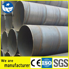 High quality carbon spiral SSAW 22 inch steel pipe