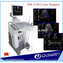 aparelho de ultrassonografia cor doppler & equipamento de ultrassonido DW-C80 PLUS