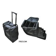 высокое качество & Горячие продать Косметическая Сумка с 2 колеса & 3 съемных лотков внутри