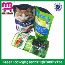 BESTE Qualitäts-Fabrik-Großhandelsbarriere-Plastikverpackungs-Tasche für Haustiernahrung