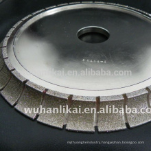 diamond electroplated grinding wheel for stone