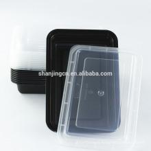 Recipientes de embalagem de alimentos para viagem com tampas para microondas BPA FREE, caixa de bento Premium