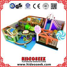 Candy Theme Soft Indoor Spielplatz zum Verkauf